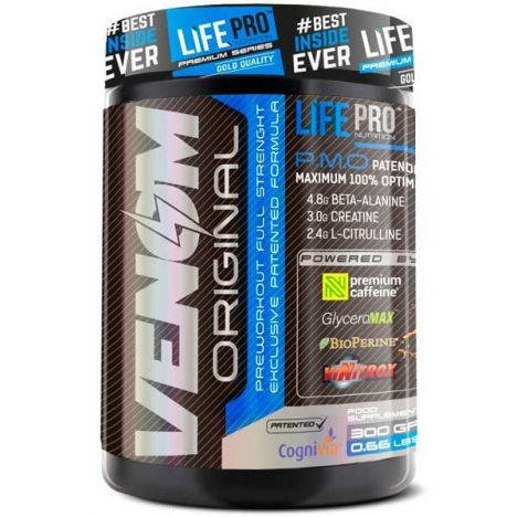 LIFE PRO NEW VENOM FULL STRENGHT PRE-WORKOUT 300G
