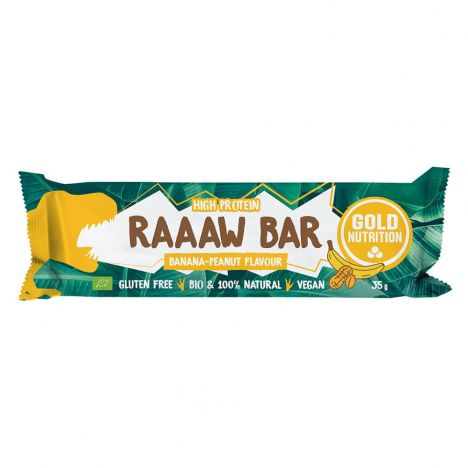 GOLDNUTRITION RAAAW BAR 35G