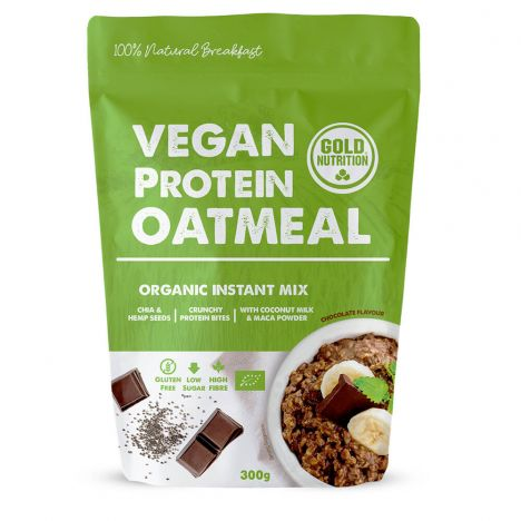 GOLDNUTRITION VEGAN PROTEIN OATMEAL 300G