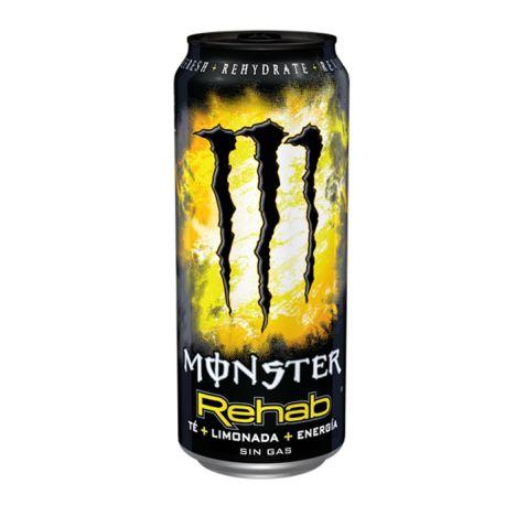 MONSTER ENERGY REHAB LEMON 500ML