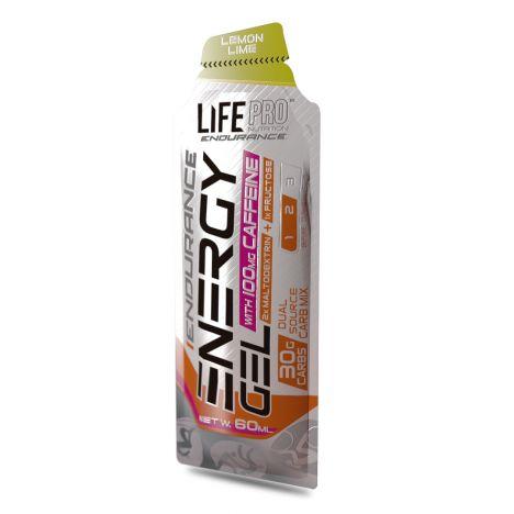 LIFE PRO ENDURANCE CAFFEINE ENERGY GEL 60ML