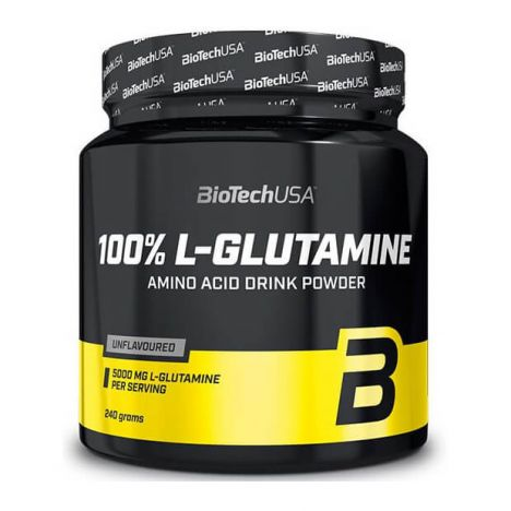 BIOTECH USA 100% L-GLUTAMIN 500g.