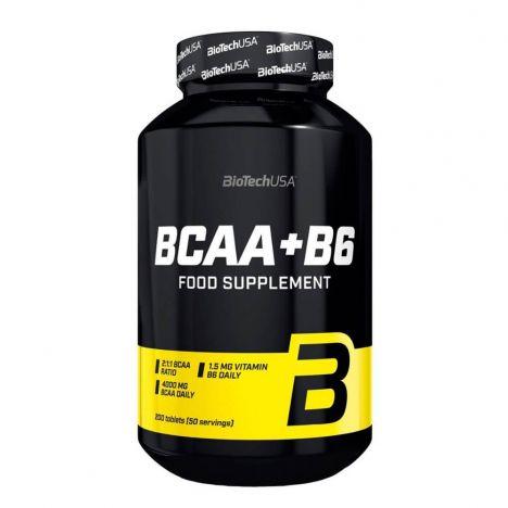 BIOTECH USA BCAA + B6 200 Tab.