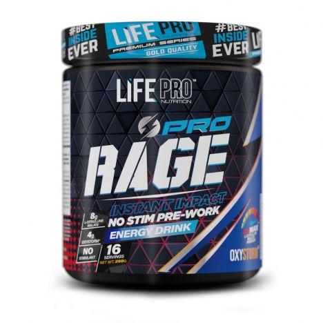 LIFE PRO CROSSFIT RAGE PRO 290G CAFFEINE FREE