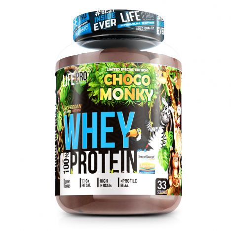 LIFE PRO WHEY CHOCOLATE JUNGLE 1KG LIMITED EDITION