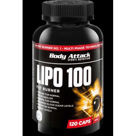 BODY ATTACK LIPO 100 60 CAPS.