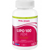BODY ATTACK LIPO 100 FEM 120 CAPS.