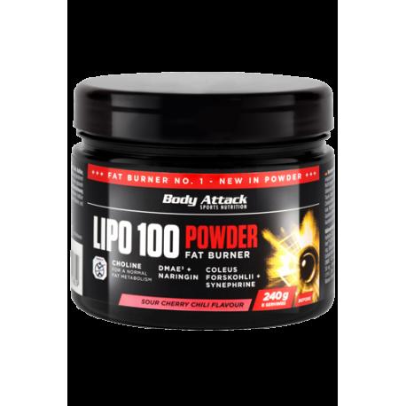 BODY ATTACK LIPO 100 POWDER 600G