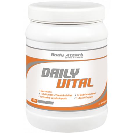 BODY ATTACK DAILY VITAL 30 BAGS
