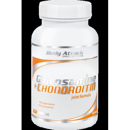 BODY ATTACK GLUCOSAMINE & CHONDROITIN 90 CAPS