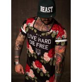 GREAT I AM CAMISETA LIVE HARD