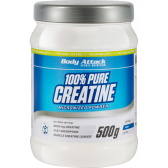 BODY ATTACK PURE CREATINE POWDER 500G