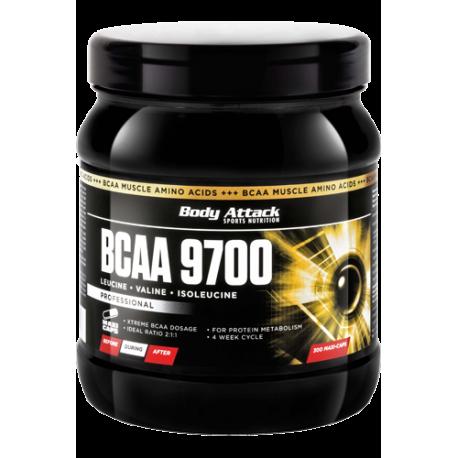BODY ATTACK BCAA 9700 120 CAPS.