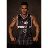 GREAT I AM CAMISETA BALONCESTO IRON MONSTER