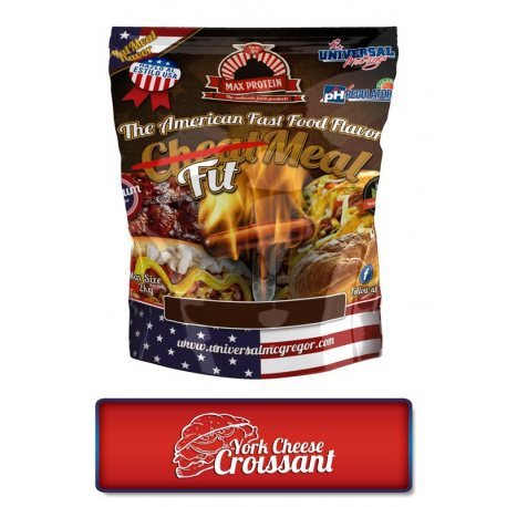 MAX PROTEIN FITMEAL YORK & CHEESE CROISANT 2KG