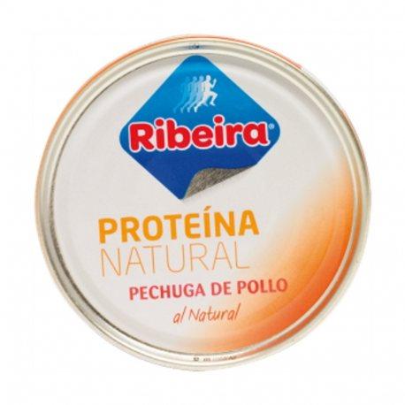 RIBEIRA PECHUGA DE POLLO AL NATURAL LATA 160 G