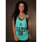 GREAT I AM MUJER TANKTOP GAME ON
