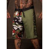 GREAT I AM PANTALON SHORT CAMUFLAJE PLAYA