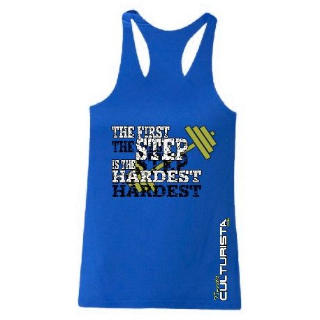TANK TOP TIENDACULTURISTA THE FIRST STEP CANARIAS