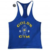 GOLD'S GYM CAMISETA JOE AZUL VINTAGE