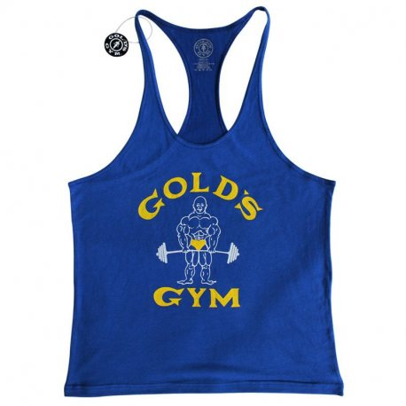 GOLD'S GYM CAMISETA JOE AZUL VINTAGE