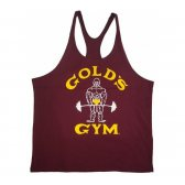 GOLD'S GYM CAMISETA JOE GRANATE VINTAGE