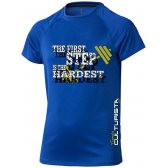 CAMISETA TÉCNICA TIENDACULTURISTA THE FIRST STEP CANARIAS