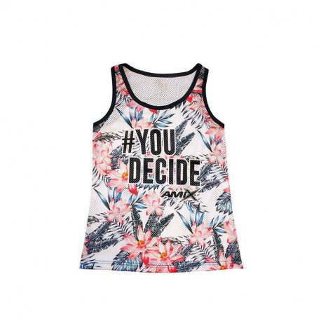 AMIX CAMISETA MUJER BASKET ROSAS YOU DECIDE