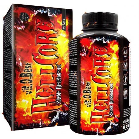 VIT.O.BEST HELLCORE XTREME THERMOGENIG 90 CAPS