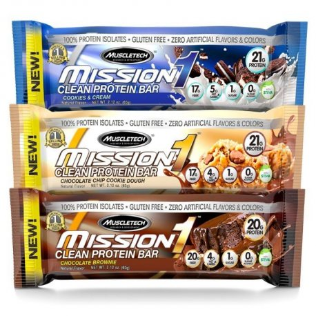 MUSCLETECH MISSION 1 CLEAN PROTEIN BAR