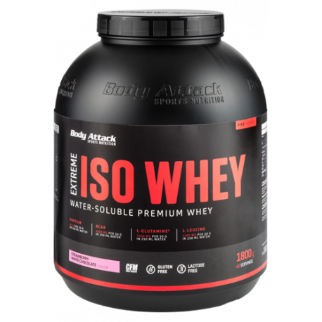 BODY ATTACK EXTREME ISO WHEY 1.8Kg