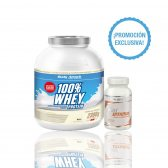 PACK BODY ATTACK WHEY PROTEIN 2.3KG + MULTIVITAMIN 100 TABS
