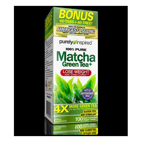 MUSCLETECH PURELY INSPIRED 100% MATCHA GREEN TEA 80 CAPS.