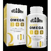 VIT.O.BEST SUPER OMEGA 3-6-9 1000MG 100 PERLAS