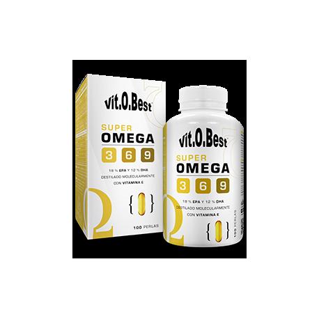 VIT.O.BEST SUPER OMEGA 3-6-9 1000MG 100 PERLAS NUEVO