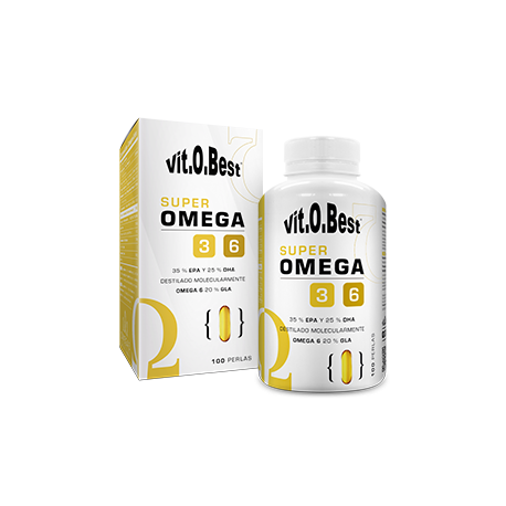 VIT.O.BEST SUPER OMEGA 3 - 6 100 PERLAS
