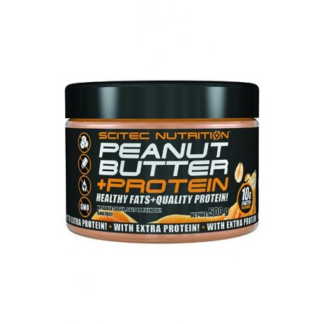 SCITEC GREEN SERIES PEANUT BUTTER WITH PROTEIN 500G.
