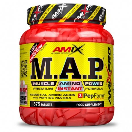 AMIX PRO SERIES MAP 375 TABS.