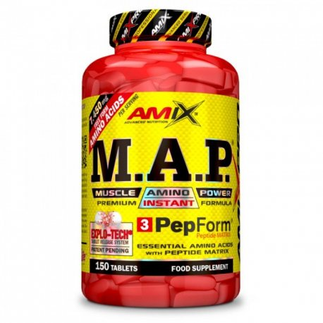 AMIX PRO SERIES MAP 150 TABS.