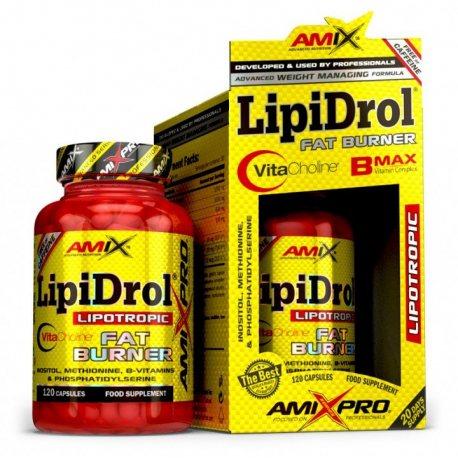 AMIX PRO SERIES LIPIDROL FAT BURNER 120 CAPS