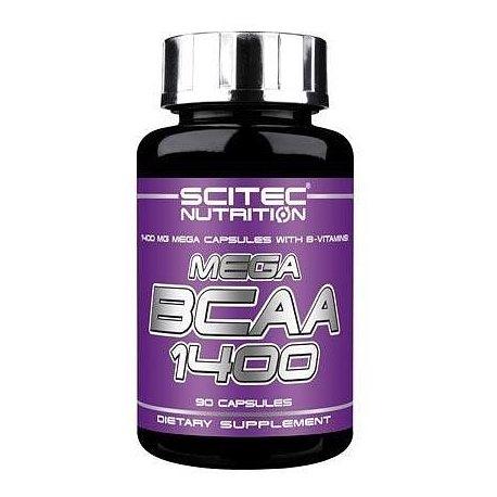 SCITEC NUTRITION MEGA BCAA 1400 90 CAPS