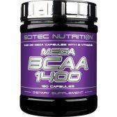 SCITEC NUTRITION MEGA BCAA 1400 180 CAPS