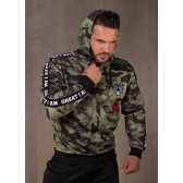GREAT I AM SUDADERA CAPUCHA MILITAR
