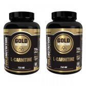 GOLD NUTRITION PACK 2X L-CARNITINE 750MG