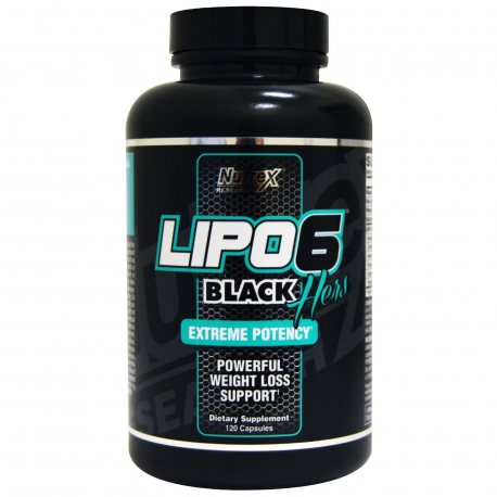 COMPRAR LIPO-6 BLACK HERS EXTREME POTENCY 120 LIQUID CAPS