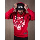 GREAT I AM SUDADERA CAPUCHA UNLEASH YOUR INNER BEAST