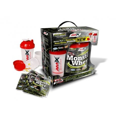 AMIX PACK ANABOLIC MONSTER WHEY PROTEIN ESPECIAL 2KG +200FREE