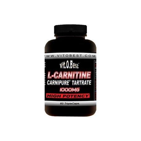 VIT.O.BEST L-CARNITINA CARNIPURE 1000MG. 120 CAPS