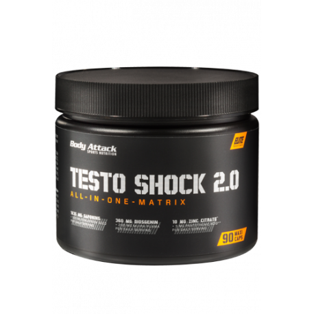 BODY ATTACK TESTO SHOCK 90 CAPS.