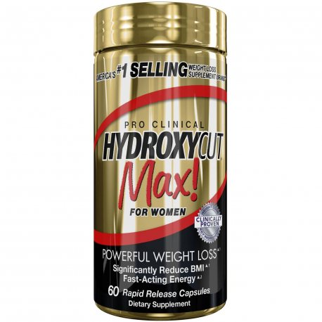 MUSCLETECH HYDROXYCUT MAX PRO CLINICAL WOMEN 60 CAPS